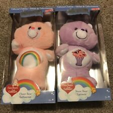 Care Bears!  Share Bear & Cheer Bear 35th Anniversary Collectors Edition New