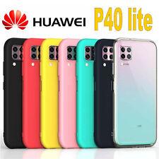 COVER per Huawei P40 Lite L' ORIGINALE Silicone CUSTODIA Qualità PREMIUM