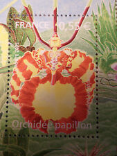 FRANCE 2005, timbre 3765, FLEURS, ORCHIDEE PAPILLON, FLOWER, neuf**, MNH STAMP