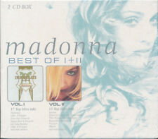 Madonna - Best Of I + II (The Immaculate Collection / GHV2) 2 CD Box