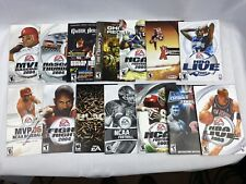 30 Game Manuals Only. PS2, Xbox, Xbox360, PS, Sega, PS3