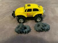 Vintage Schaper Stomper 4x4 Yellow VW Baja Bug Beetle Tested Runs w/ Light