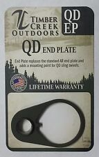 TIMBER CREEK OUTDOORS QUICK DETACH END PLATE - CERAKOTE OD GREEN - QD EP