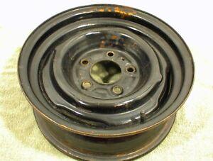 """GM STEEL RIM WHEEL 15x5.5  5x5"""" 1960s 1970s 1980s 1990s CHEVROLET GMC TRUCK VAN"""