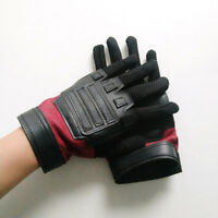 Superhero Deadpool Gloves Cosplay leather gloves Fancy accessory cycling gloves
