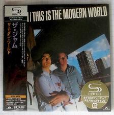 THE JAM - This Is The Modern World JAPAN SHM MINI LP CD NEU! UICY-93572