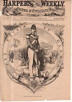 1879 Harpers Weekly - Nast - Our soldiers deserve to be honored