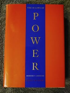 The 48 Laws of Power by Robert Greene/Joost Elffers (1998 Hardcover) 1st Edition