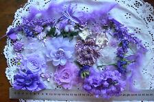PURPLE LAVENDER Mix - 45+ Flower Petals Mix 1-7cm Njoyfull Crafts WMF