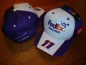Denny Hamlin 2021 FEDEX #11 CFS Adj.UNIFORM Hat NEW W/tags IN STOCK