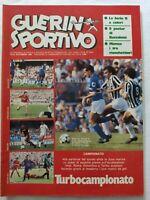 GUERIN SPORTIVO 37/1982 + POSTER BECCALOSSI DIEGO MARADONA LIAM BRADY
