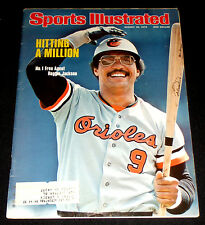 August 30, 1976 Sports Illustrated REGGIE JACKSON Cover (Baltimore Orioles)