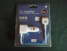 DLO AutoPod In-Car Charger For iPod & iPod Mini - White NEW  in Package
