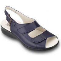 Db Shoes Ladies Extra Extra Wide Sandals Oak Different Widths, Sizes and Colours