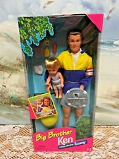 Barbie Big Brother Ken Doll and Baby Brother Tommy Barbie 1996 New/Sealed Box