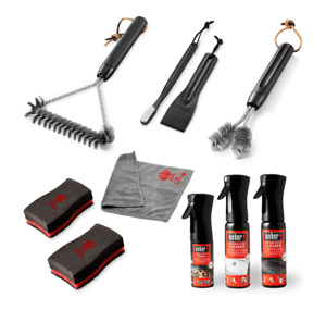 Weber BBQ Cleaning Tools-Kits- Grill Brushes-Cleaners- Sponges- Maintanence Kit