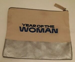 Vintage HTF canvas WNBA Year of the Woman bag purse clutch
