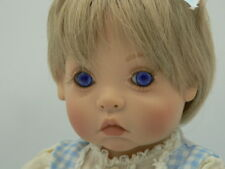 Kay McKee Blonde Hair Baby Doll Girl Signed 1996
