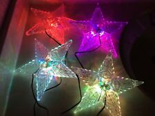 Christmas Tree Topper Led Color Changing Please See Pictures Amazing Colors