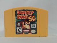 DONKEY KONG 64 NINTENDO 64 N64  ACCEPTABLE