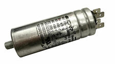 CAGE FAN - METAL ROUND RUN CAPACITOR 6µF / 6UF 400-500V 4 TERMINALS