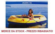 CANOTTO GONFIABILE ATLANTIC 195 PORTATA 120 KG - MERCE DA STOCK PREZZO RIBASSATO