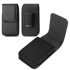 Vertical Leather Swivel Belt Clip Case Holster Pouch Cover for Cell Phones