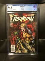 AQUAMAN #1 2nd Print CGC 9.6 (second) 1st App The Trench - Very rare -James Wan.