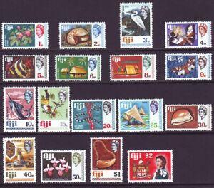 Fiji 1969 SC 260-276 MNH Set