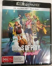 Birds Of Prey 4K + Blu-ray (2 Disc Set) Brand New & Sealed
