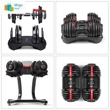 Bowflex Strength Adjustable Dumbbells Syncs Free SelectTech App Workout *NEW*