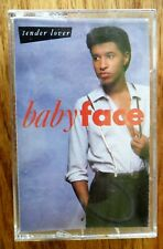 Baby Face Tender Lover Cassette Tape 1989 Plays Perfectly R&B Soul