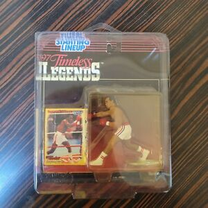 1997 Starting Lineup Timeless Legends Sugar Ray Leonard Figure SLU Boxing Sealed