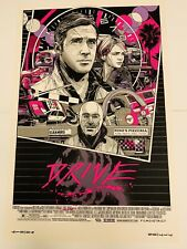 Mondo Tyler Stout DRIVE Screenprint Poster 2013 Signed/Numbered