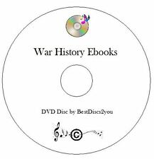 War History Ebook Collection CD E-Reader E Books KINDLE IPAD KOBO, PDF MOBI EPUB
