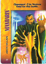 Marvel Overpower Powersurge Mandarin Arch Villain NrMint-Mint Card