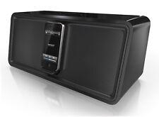 SONORO cuboDock Schwarz Aussteller Design iPod/iPhone Dock Bluetooth UVP € 299