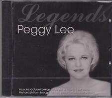PEGGY LEE - LEGENDS - CD - NEW -