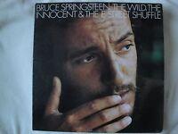 BRUCE SPRINGSTEEN: THE WILD, THE INNOCENT & THE E STREET SHUFFLE VINYL LP VG+