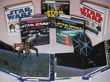 Lot 5 Star Wars mini Books pop-up collectors r2-d2 ANH Tie X-Wing fighters