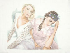 Two Romantic Ladies - Lanarte Cross Stitch Kit w/30 Ct. Linen New