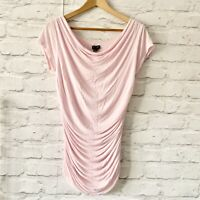 PHASE EIGHT PINK Top Size L | Smart CASUAL Work Office RUCHED