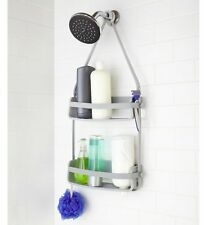 Umbra FLEX GREY Hanging SHOWER CADDY Tidy BATHROOM Organiser
