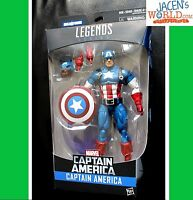 "Captain America 6"" Marvel Legends Captain America BAF Red Skull Figure"