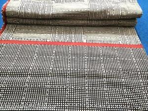 Organic Handmade Quilt Tari Kantha Bedspread Throw Cotton Blanket Queen Gudri