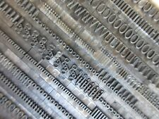Letterpress Lead Type 24 Pt. Typo Roman Shaded - ATF # 481    A69