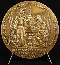 Médaille Charles du Fresne sieur du Cange historien linguiste & philologue medal