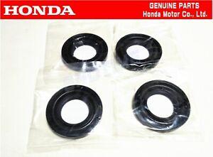 HONDA GENUINE OEM 05-10 CIVIC FD2 TYPE-R 4 pcs Headlight Bulb Rubber Cover JDM