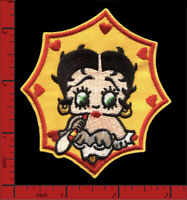 BETTY BOOP Embroidered Applique Patch Iron-on or Sew-on Dizzy Dishes Talkartoons