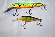 Fishing Lure lot of Sisco Kid and Rapala Lot of Two - Lot B